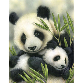 Cute panda diamond diamond Painting - Gift-Frog