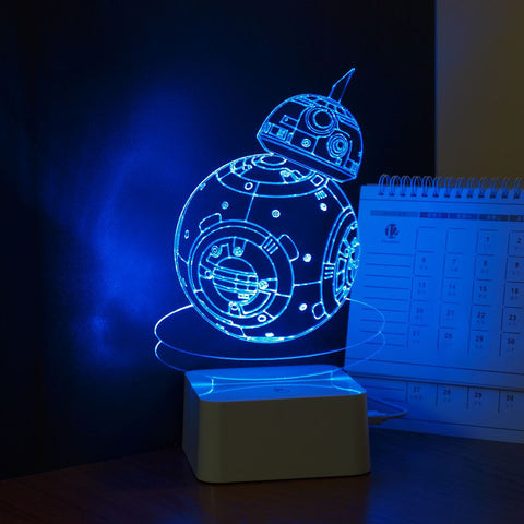 Night Lights Star Wars Robot BB-8 Touch Dimming Led Lamp - Gift-Frog