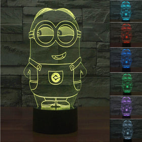 Minions 3D Night Light - Gift-Frog