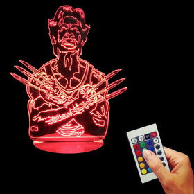 The Wolverine 3D Lamp With Remote Controller - Gift-Frog