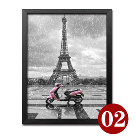 Diamond painting Paris red umbrella (Various styles and sizes to choose from) - Gift-Frog