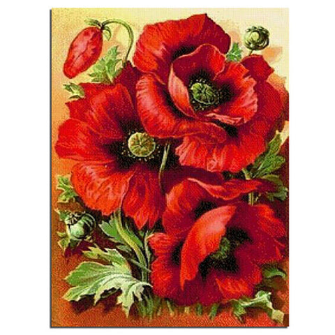 Diamond Painting Russia Flowers (Various sizes to choose from) - Gift-Frog