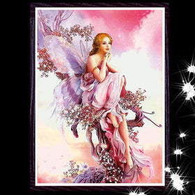Diamond painting Fairy 39x26 cm - Gift-Frog