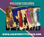 Load image into Gallery viewer, Custom Sequin Pillow