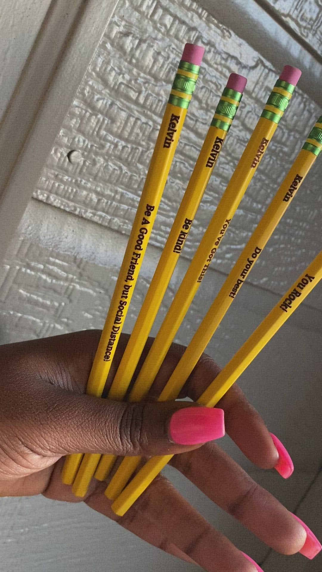 Personalized Engraved Pencils