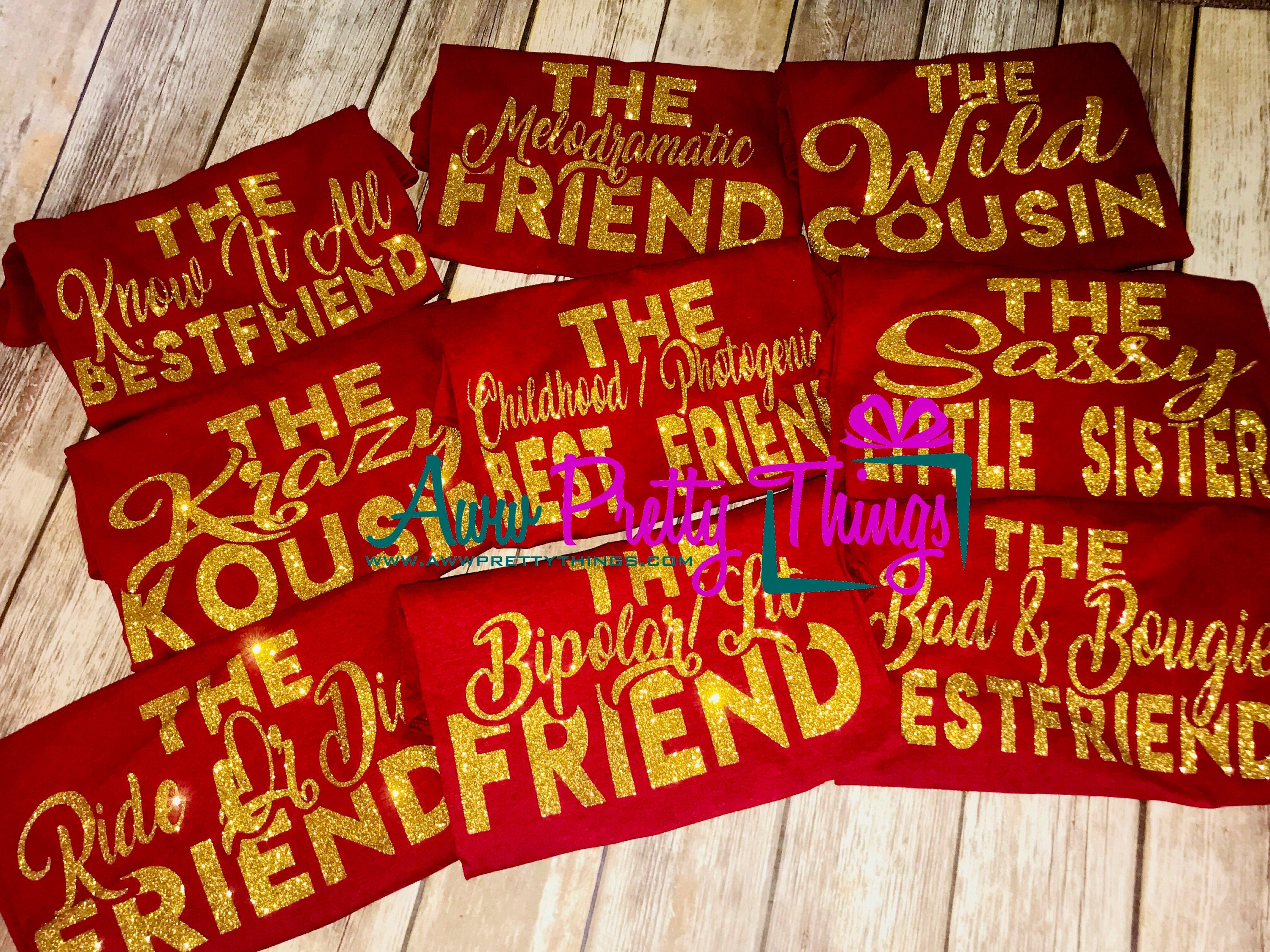 Birthday Gang Shirts Birthday Shirts for Friends Describing Friends Shirts Birthday Crew Birthday Group Shirts Squad Goals Group Shirts
