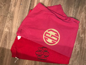 Adult Pocket Size Monogram T-Shirt Pocket Monogram