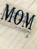 Load image into Gallery viewer, Mom Personalized T-Shirt Mothers Day T-Shirt Grandma Personalized T-Shirt