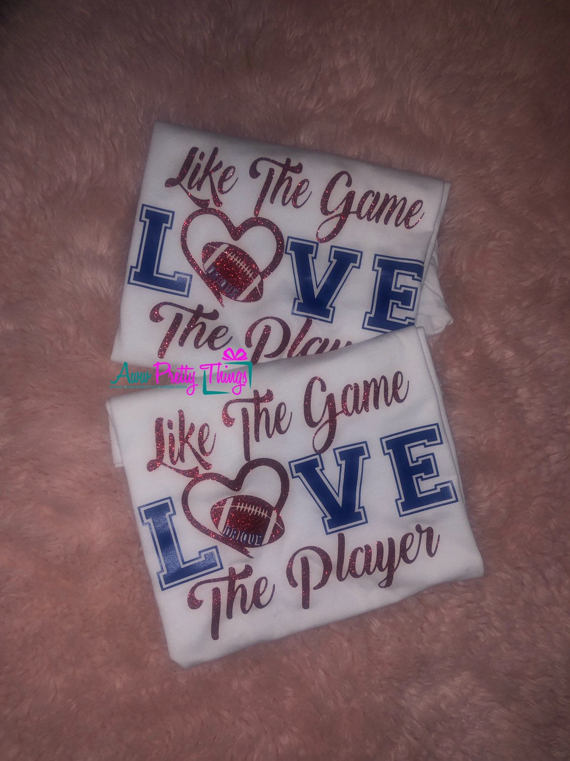 Like The Game Love The Player Football Shirt Football Mom Shirt Friday Night Lights