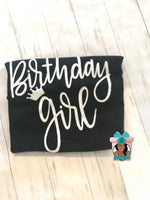 Load image into Gallery viewer, Birthday Queen T-Shirt Birthday Girl Shirt Birthday Its A Queen Birthday Birthday Shirt
