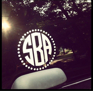 Vinyl Decal Up to 11""
