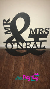 Mr. and Mrs. Ampersand with Name