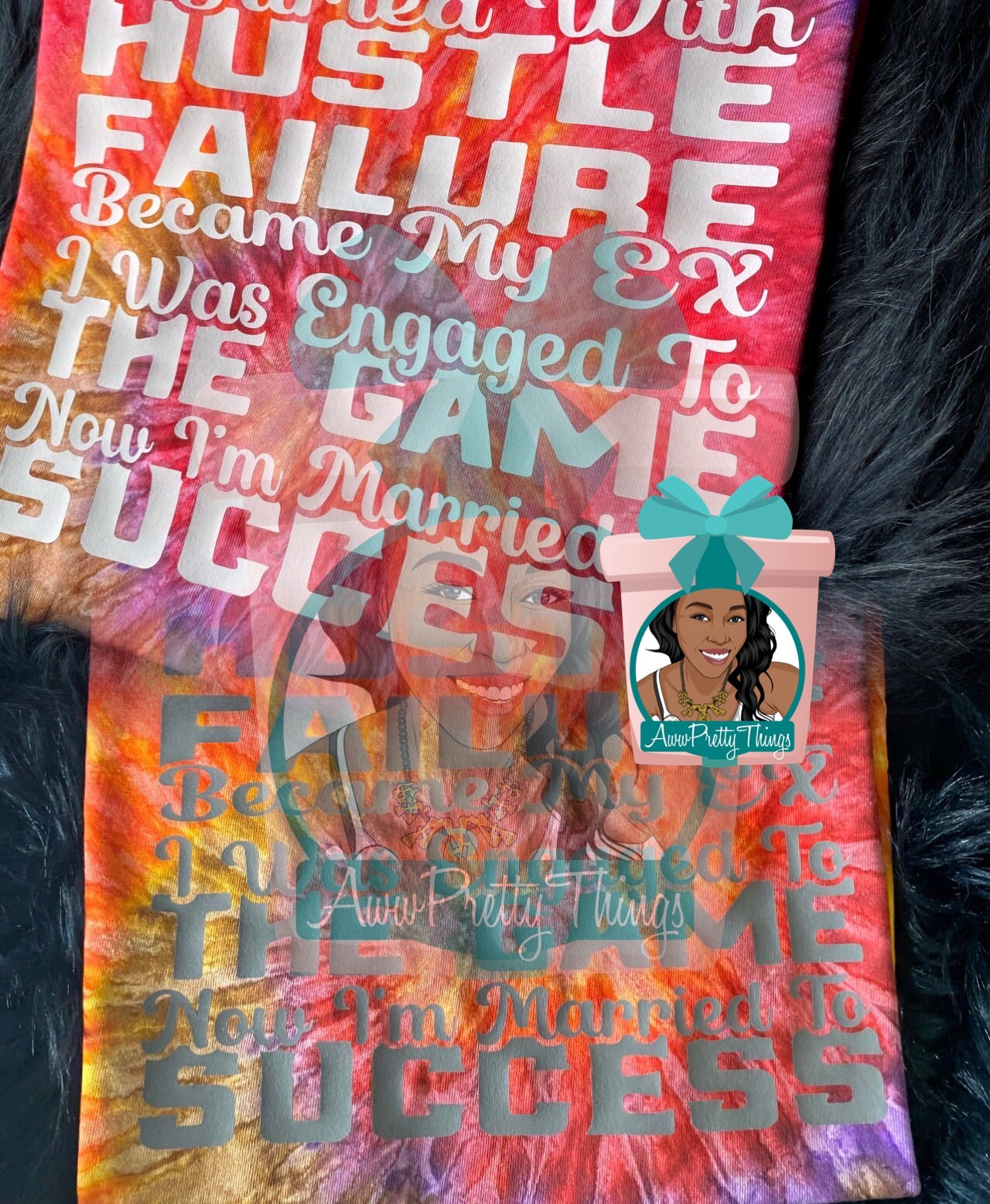 Married To Success Tye Die T-Shirt