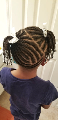 Neat Braided Hairstyle Cornrows