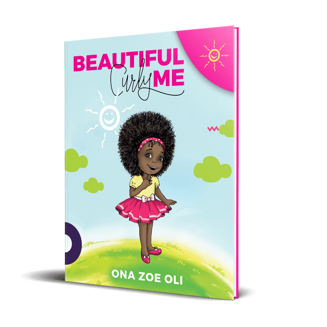 Beautiful Curly Me by Zoe Oli (Hardcover)