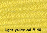 Light Yellow col.# 40