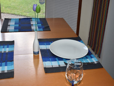 Rep placemats table 8/2 cotton