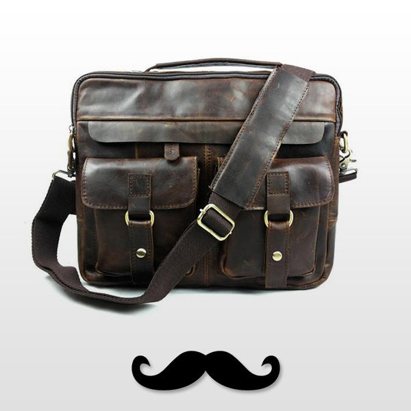 The Aviators Briefcase - Mustache Trading