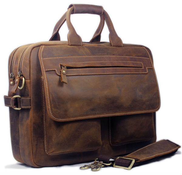 The Oxford Collective Briefcase - Mustache Trading