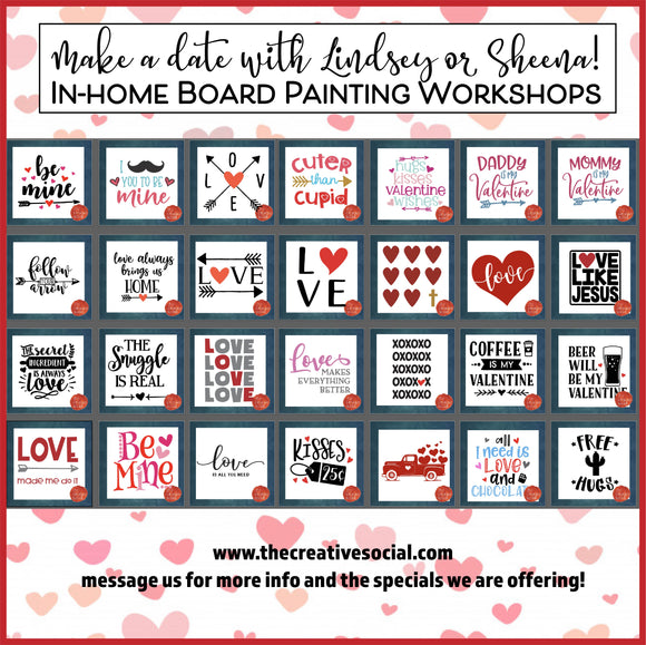 Host a Valentine's Day Workshop!
