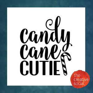 Candy Cane Cutie DIY Kit