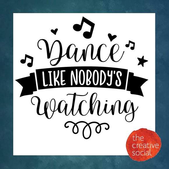 Dance Like Nobody's Watching DIY Kit