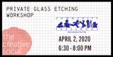 Community Preschool of Whitefish Bay: Private glass etching workshop