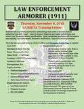 2018/11/08 - Law Enforcement Armorer's Course (1911 Handgun) - Los Angeles, CA - Armitage Tactical