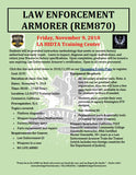 2018/11/09 - Law Enforcement Armorer's Course (Remington 870) - Los Angeles, CA - Armitage Tactical