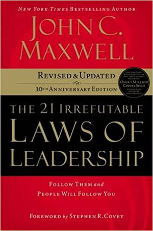 The 21 Irrefutable Laws of Leadership - Hardcover