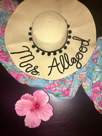 Mrs. Allgood Honeymoon Hat