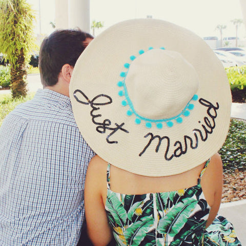 Just Married Honeymoon Hat™