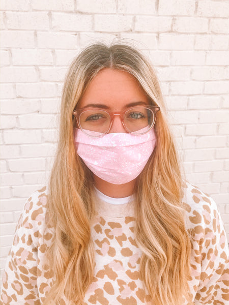 Washable Fabric Face Mask Surgical Safety Mask Scarf Reusable w/Filter Pocket 100% Cotton