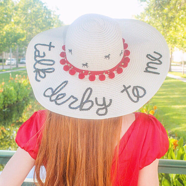 Kentucky Derby Talk Derby to Me Honeymoon Hat™