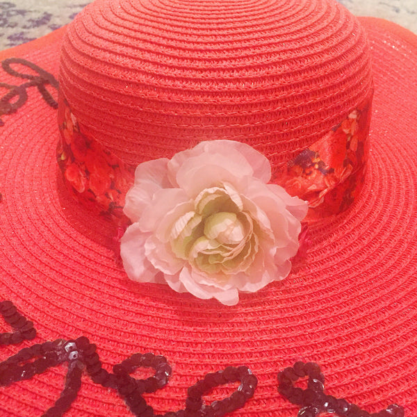 Kentucky Derby Run for the Roses Honeymoon Hat™