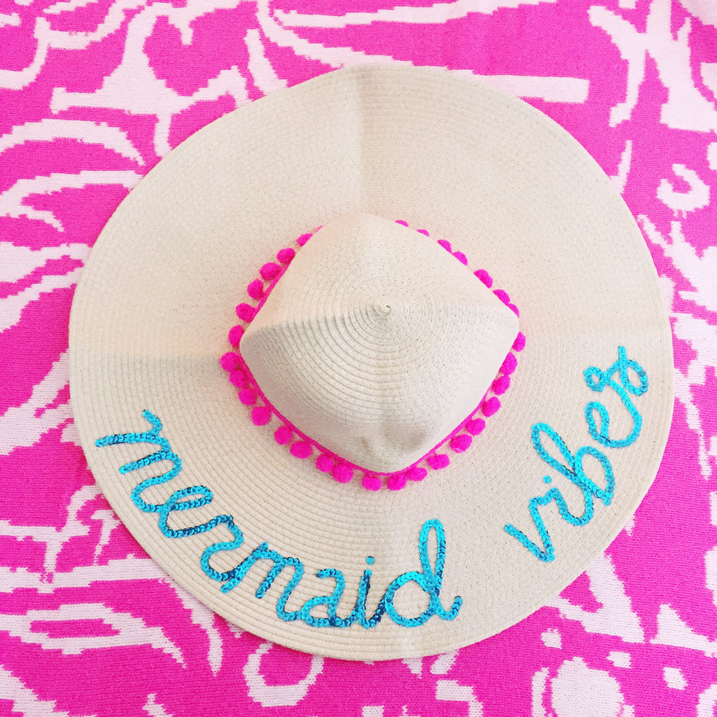 Mermaid Vibes Honeymoon Hat™