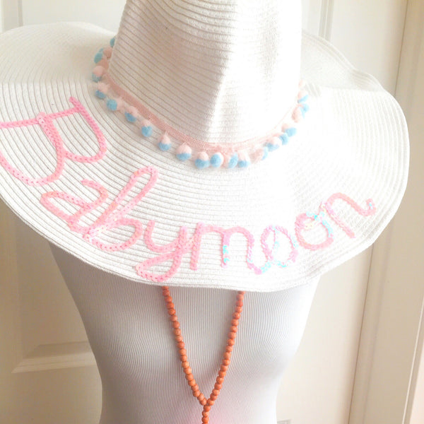 The Original Babymoon Baby on Board Honeymoon Hat™