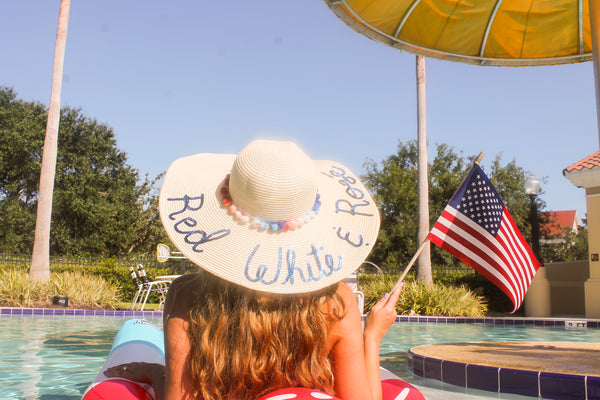 Red White & Rosé Honeymoon Hat™