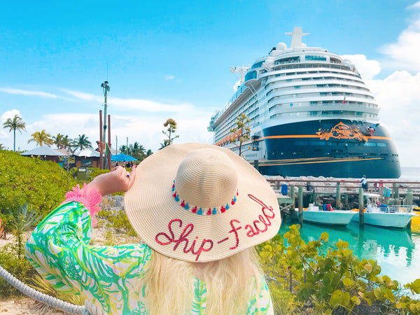 Ship Faced Cruise Honeymoon Hat™