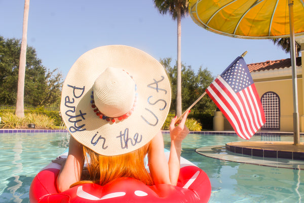 Party in the USA Honeymoon Hat™