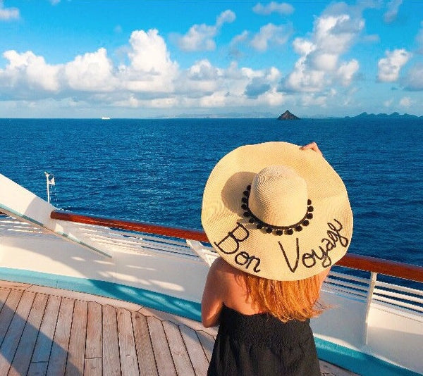 Bon Voyage Honeymoon Hat™