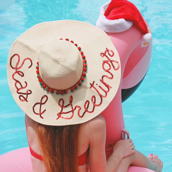 Seas & Greetings Honeymoon Hat