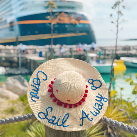 Come Sail Away Honeymoon Hat™