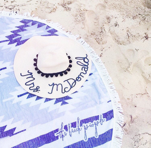 Custom Honeymoon Hat™/Mrs. Hat