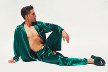 Load image into Gallery viewer, Men's Cassius Silk Jacquard Pajamas