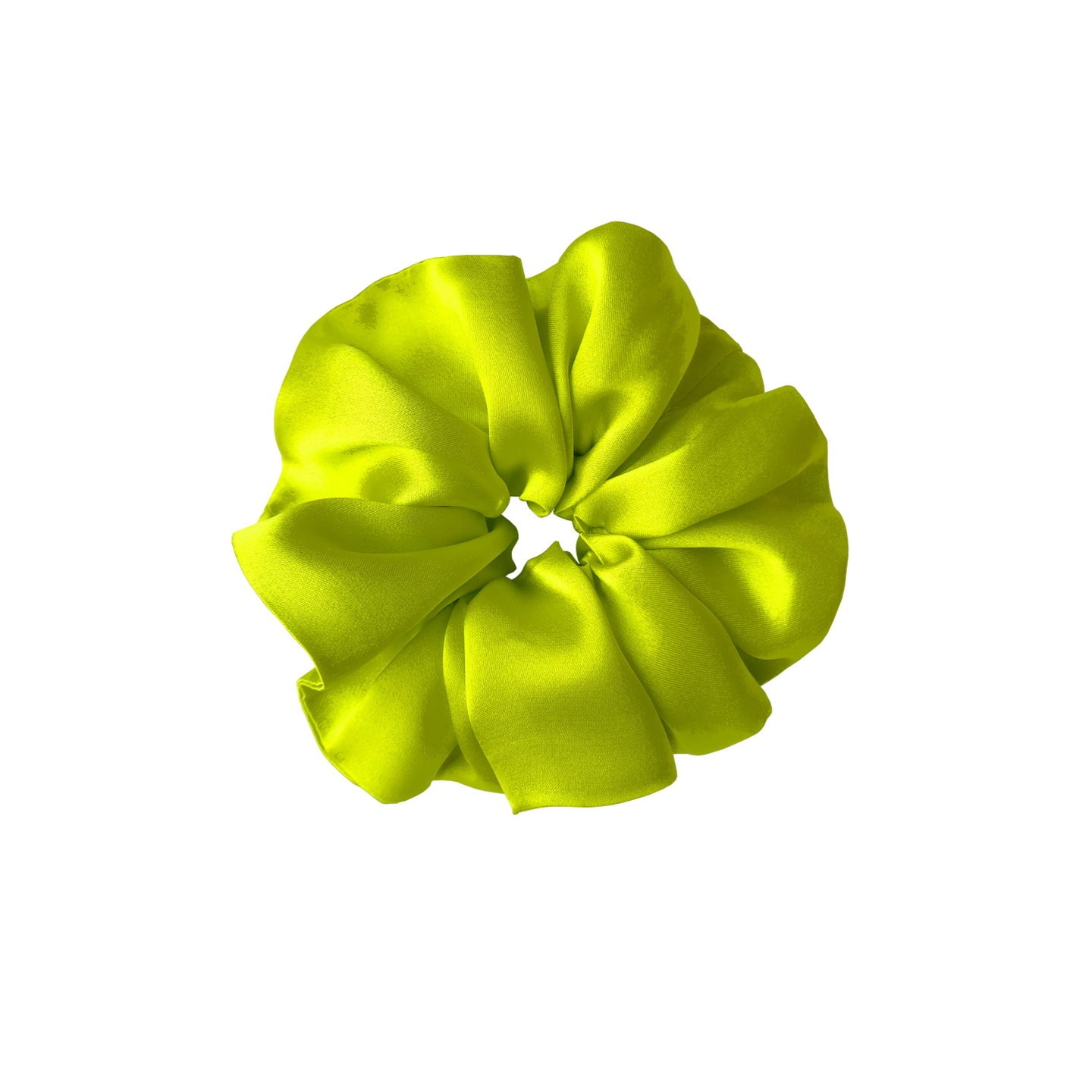 Christie Scrunchie in Chartreuse