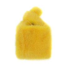 Load image into Gallery viewer, Mini Mink Shopper in Yellow