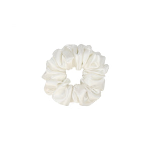 Cassius and Pearl Silk Jacquard Scrunchie Set