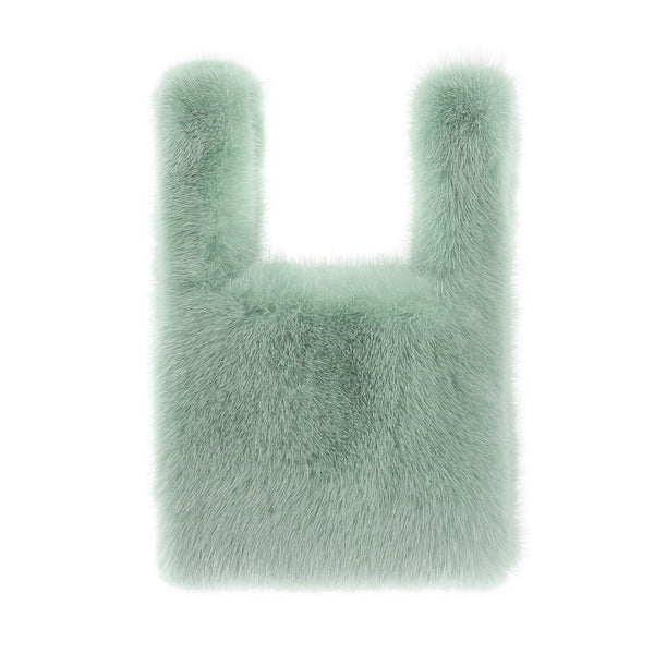 Clarissa Mini Mink Shopper