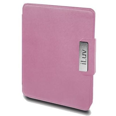 iLuv ICC806PNK iPad Foldable Leather Case fOR ALL iPAD MODELS - SilkRoads Online